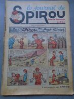 Le Journal De SPIROU - 1ère Année - N° 9 - 16 Juin 1938 - RARE - ROB VEL - F.DINEUR - Lire Le Descriptif - Spirou Magazine