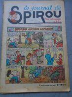 Le Journal De SPIROU - 1ère Année - N° 8 - 9 Juin 1938 - RARE - ROB VEL - F.DINEUR - Lire Le Descriptif - Spirou Magazine