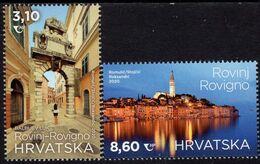 Croatia - 2020 - Tourism - Rovinj - Rovigno - Mint Stamp Set - Kroatien