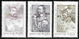 Hungary, Scott 2018 # 3213-3217,  Issued 1989, Set Of 5,  MNH,  Cat $ 3.75 - Ongebruikt