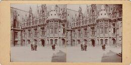 Photo Stéreo Rouen Palais De Justice - Photos Stéréoscopiques