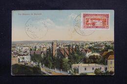 """LIBAN - Oblitération Bilingue """" Beyrouth Canons """" En 1937 Sur Carte Postale - L 69635 - Lettres & Documents"""