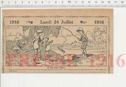 2 Vues Pêche Aux écrevisses Pêche à La Balance écrevisse Fortifications Paris Enfant Qui A Fait Dans Sa Culotte 231M - Old Paper
