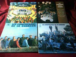 LES COMPAGNONS DE LA CHANSONS  °°  COLLECTION DE 11 / 33 TOURS - Volledige Verzamelingen