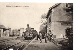St-JEAN-DE-BRAYE (Loiret) - La Gare - Francia