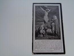 Doodsprentje ( 2572 )   Pecceu / Vandenbroucke  -  Staden 1922 - Esquela