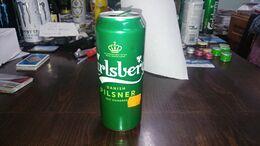Danmark-beer Cans-carlsberg-danish Pilsner 1847 Onwards-(1)-(5%)-(500ml)--good - Blikken