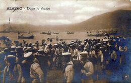 ALASSIO-Dopo Lo Sbarco-Viaggiata Il 15-9-1914- - Savona