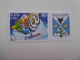 FRANCE  2000   3365Ab * *    LOGO HEILLECOURT - Personalizzati