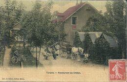 08 - 2020 - DOUBS - 25 - TORPES - Restaurant Du Châlet - Colorisée Et Toilée - Frankrijk