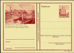 Carte Illustrée Neuve N° 410. 103/11. - 4820 BAD ISCHL; Salzkammergut, OÖ. 1415 M ( Téléphérique) - Entiers Postaux