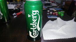 Serbia-beer Cans-carlsberg-copenhagen Premium Beer 1847-(3)-(5%)-(500ml)--good - Dosen