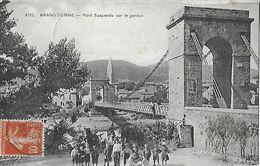 30 - Gard -  GRAND'COMBE - Pont Suspendu Sur Le Gardon - La Grand-Combe