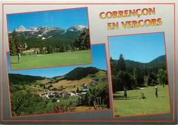 38 - Corrençon En Vercors - Le Golf Et Le Village - Multivues - Carte Neuve - CPM - Voir Scans Recto-Verso - Autres Communes