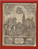 LE GRAND MESSAGER BOITEUX DE STRASBOURG 1825 ALMANACH HISTORIQUE MORAL ET RECREATIF POUR L ANNEE DE GRACE LOUIS XVIII - 1801-1900