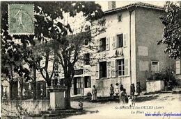 42 - St-Bonnet-les-Oules - La Place - 1919 - Otros Municipios