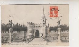 SP- 37 - L'ILE BOUCHARD - Entree Du Chateau Du Temple - Timbre - Cachet - 1912 - - L'Île-Bouchard
