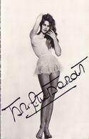 AUTOGRAPHE ORIGINAL ACTRICE FRANCE / BRIGITTE BARDOT / 1934 .   /  VICTOIRE DU CINEMA FRANCAIS 1957 - Handtekening