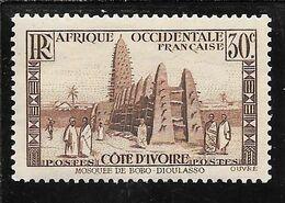 COTE D'IVOIRE N°152 ** TB SANS DEFAUTS - Nuovi