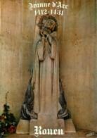 76 - Rouen - Statue De Jeanne D'Arc (Par Maxime Real Del Sarte) - Carte Neuve - CPM - Voir Scans Recto-Verso - Rouen