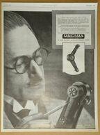1926 Dufaux Amortisseur Rue Baudin Levallois Perret (pour Automobile) - Aspirateur Calor Par Lauvey - Publicité - Publicidad