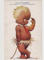 Carte Fantaisie Humoristique Signée D.Tempest / Un Rien M'habille ! - Other Illustrators