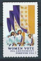 USA. Scott # ? MNH. Women Vote.  2020 - Nuovi