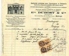 -- MONTARGIS (Loiret) - Ets DUBOST & Cie / Spécialité D'Articles Pour Boulangerie Et Pâtisserie -- - Francia