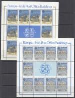 IRLAND 716-717, Kleinbogen, Postfrisch **, Europa: Postalische Einrichtungen 1990 - Blocchi & Foglietti