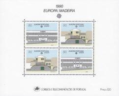 PORTUGAL MADEIRA Block 11, Postfrisch **, Europa: Postalische Einrichtungen, 1990 - Madeira