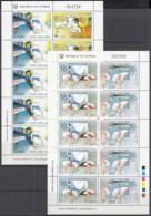 ZYPERN  695-698, 2 Kleinbogen, Postfrisch**, Europa: Transport- Und Kommunikationsmittel, 1988 - Cyprus (Republic)