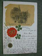 GRUSS AUS CASSEL 1901 AK RELIEF - Unclassified