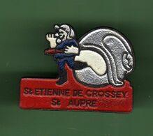 SAPEURS POMPIERS *** ST ETIENNE DE CROSSEY *** 1073 (18) - Brandweerman