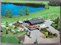 Längenbühl/ Thun Restaurant Grizzlybär/ Flugaufnahme - BE Berne
