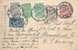 PK  Graz - Homestead USA           1923 - Stamped Stationery