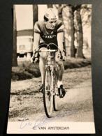 Aad Van Amsterdam - Avanti - Signee -   Card - Cyclist - Cyclisme - Ciclismo - Wielrennen - Wielrennen