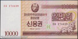 TWN - NORTH KOREA 57B - 10000 10.000 Won 2003 Savings Bond - Prefix ㅌㅎ UNC - Corea Del Nord