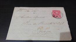 Portugal - Carta D. Carlos - 1892-1898 : D.Carlos I