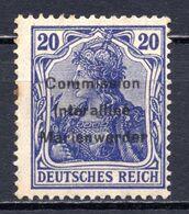 1920 MARIENWERDER 20 PFG. COMMISSION INTERALLIEE MARIENWERDER MICHEL: 16 MH * - Abstimmungsgebiete