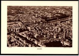 Fiche Année 1937 (49) Maine Et Loire Angers Cliché EPA Moreau - Aardrijkskunde