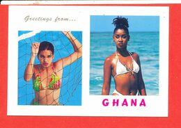 PIN UP GHANA Cp Animée 2537 Edit RPS - Pin-Ups