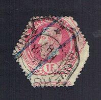Timbre TG6 Très Décentré (Obl. Anvers, 14/2/1887) - Telégrafo