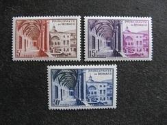 Monaco:  TB Série N° 383 Au N° 385 . Neufs XX. - Neufs