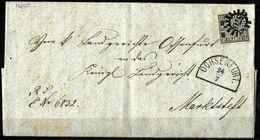 827 - GERMANY - BAYERN - 1860 - FOLDED LETTER - SOLD AS FORGERY - FAUX - FAKE - FALSE - FALSCH - Francobolli