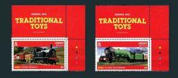 Jersey  Europa 2015 **  Serie Jouets Toys Gioccatolli Trains Treni Trenos Cdf - 2015