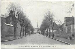 BEAUNE : AVENUE DE LA REPUBLIQUE - Beaune