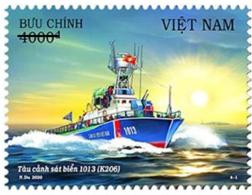 Vietnam Booklet Type 1 - Issued 27th Aug 2020 : Viet Nam Coast Guard Ship / Ships (Ms1129) - Vietnam