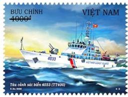 Vietnam Booklet Type 2 - Issued 27th Aug 2020 : Viet Nam Coast Guard Ship / Ships (Ms1129) - Vietnam