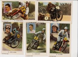 Aiglon Moto Cross Pilote Marcel Meunier / Victor Leloup / Nic Jansen / Auguste Mingels & Vander Schrick - Aiglon