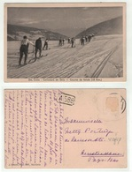 Suisse // Schweiz // Vaud //  Sainte-Croix, Concours De Ski, (course De Fonds) - VD Waadt